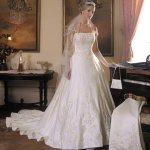 فستان زفاف رقم 331