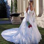 فستان زفاف رقم 343