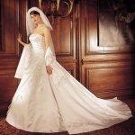 فستان زفاف رقم 344