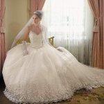 فستان زفاف رقم 355