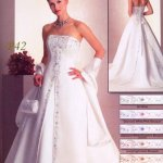 فستان زفاف رقم389