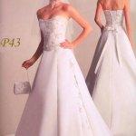 فستان زفاف رقم 392