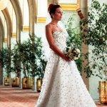 فستان زفاف رقم 400