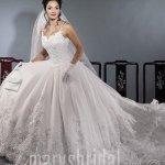 فستان زفاف رقم 412 (أ) Size:28.40 Kb Dim: 400 x 500