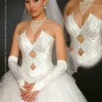 فستان زفاف رقم 416