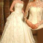فستان زفاف رقم 421