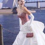 فستان زفاف رقم 452