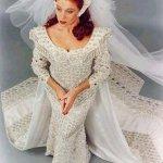 فستان زفاف رقم 455