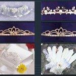 اكسسوارات لثوب الزفاف