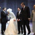 فستان زفاف إبنة الرئيس التركي1