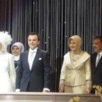 فستان زفاف إبنة الرئيس التركي3