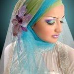 طرحات للعروس المحجبة1
