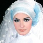 طرحات للعروس المحجبة5