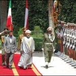زيارة السلطان قابوس إلى إيران5