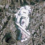 مسجد الحرام من الفضاء Size:160.20 Kb Dim: 800 x 600