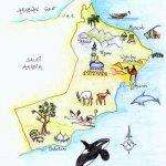 خارطة عمان Size:38.20 Kb Dim: 350 x 500