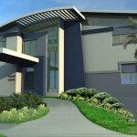 تصاميم فلل ومنازل خارجية2