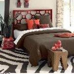 غرف نوم بالوان الـشوكولاته 4