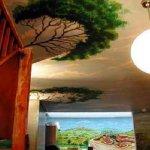 الرسم على الجدران داخل البيت 6