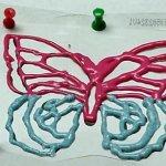 طريقة الرسم ع البلاستيك 2