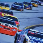 Race Cars at Penzoil 400