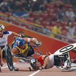 كارثة في اولمبياد المعوقين1