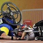 كارثة في اولمبياد المعوقين3