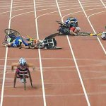 كارثة في اولمبياد المعوقين6