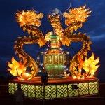 مهرجان الفانوس الصيني بمناسبة9