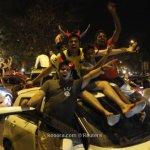 احتفالات صاخبة في الهند بعد ا1
