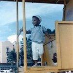 طفولة الرئيس باراك اوباما 5