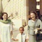 طفولة الرئيس باراك اوباما 12