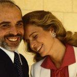 الملك حسين والملكة نور
