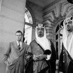 ملك السعودية 1945م