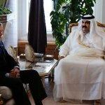 زيارة بوش لأمير قطر2003