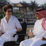 الأمير آن والملك حمد