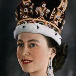 الملكة اليزبث 1953 م