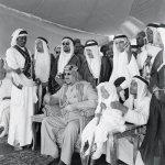 صورة قديمة للملك سعود