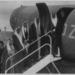 الملك فيصل 1945 م