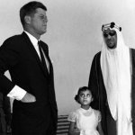 Kennedy and King Saud