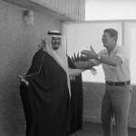 Ronald Reagan and King of