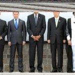 الرئيس معمر القدافي وتشكيلة م1