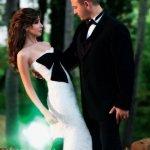 صور نادرة لحفلة زواج الفنانة 3