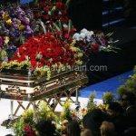 جنازة الفنان مايكل جاكسون في 1