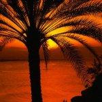 الغروب منظر من عمان