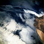 صورة فضائية لبحرالعرب
