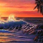 أمواج هائجه