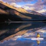 منظر خيالي من كندا