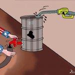 النفط العراقي   بيد الغرب