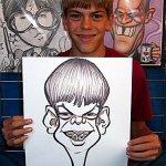 رسام كاريكاتير.....بجد فنان8